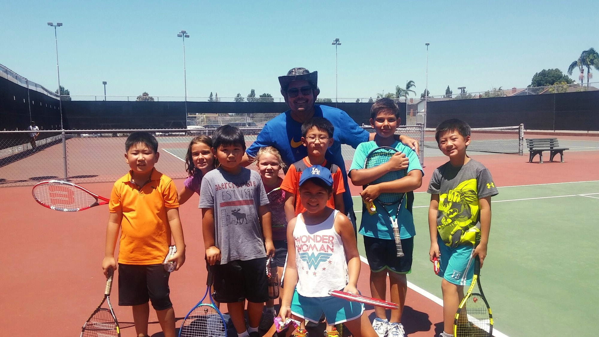 Peter T. teaches tennis lessons in Diamond Bar, CA