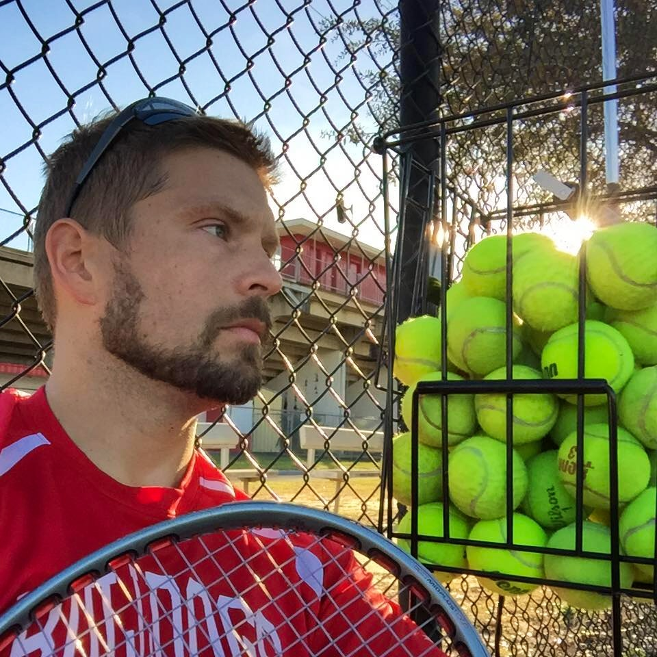 David P. teaches tennis lessons in Crestview, FL
