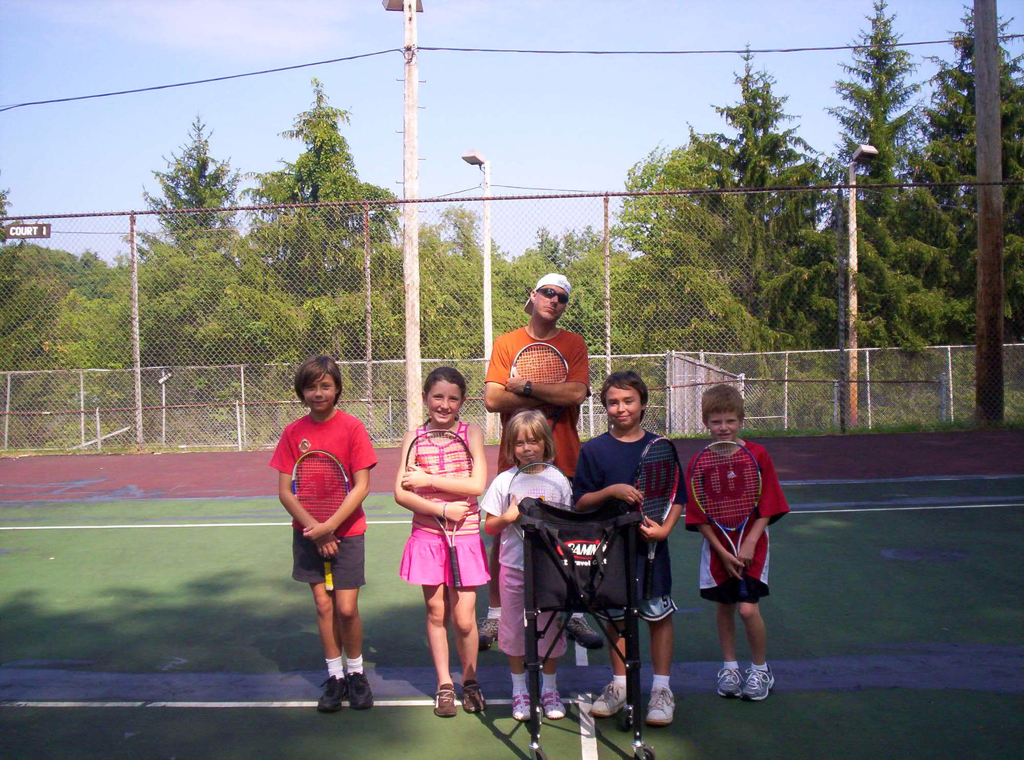 David J. teaches tennis lessons in Imperial, PA