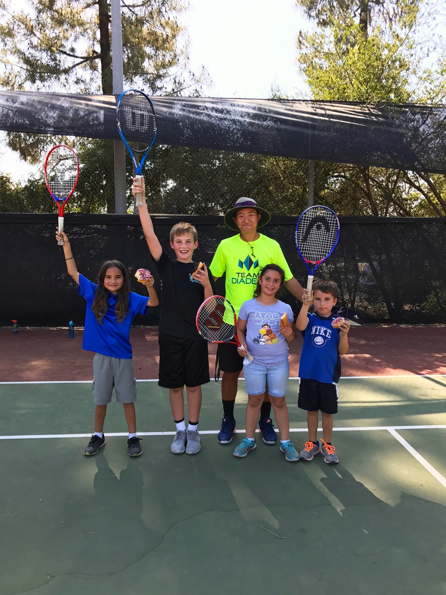 Benson K. teaches tennis lessons in Corona, CA