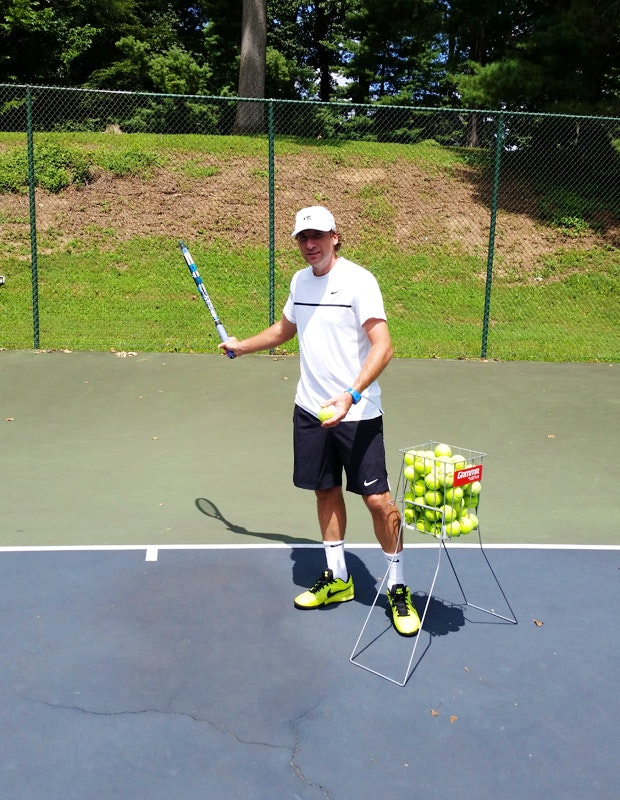 Louis G. teaches tennis lessons in Bethesda, MD