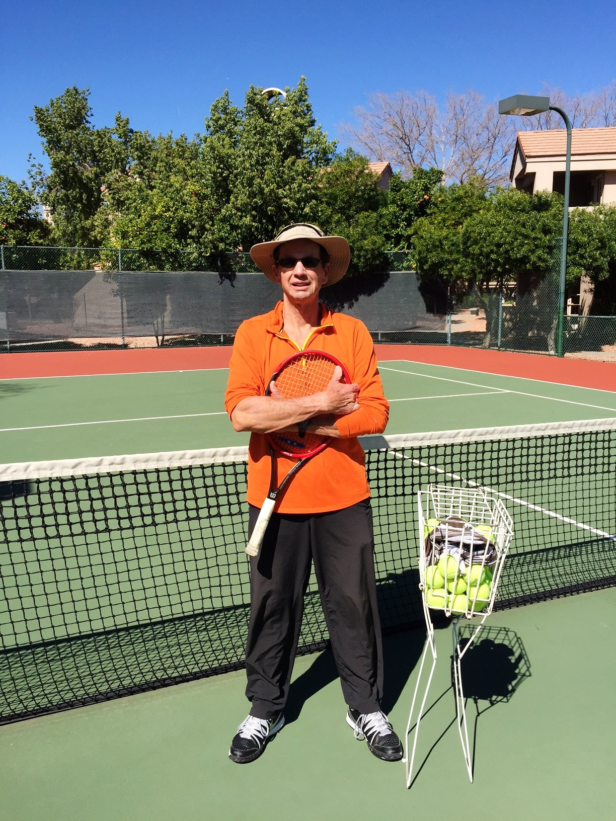 Thomas K. teaches tennis lessons in Scottsdale, AZ