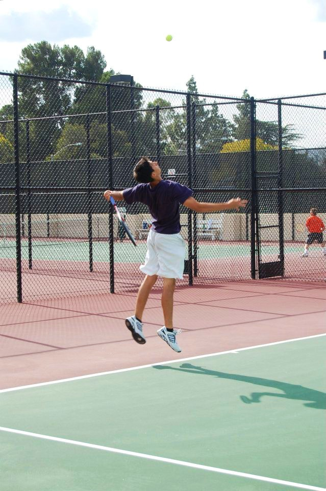 Vince R. teaches tennis lessons in Murrieta, CA