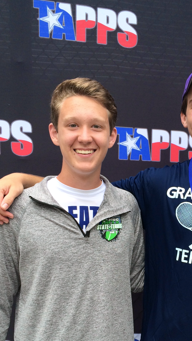 Nathan L. teaches tennis lessons in Arlington, TX