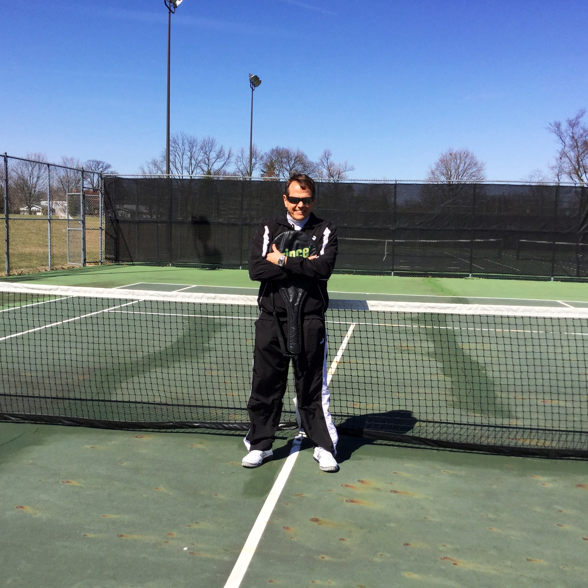Jon G. teaches tennis lessons in Columbus, OH