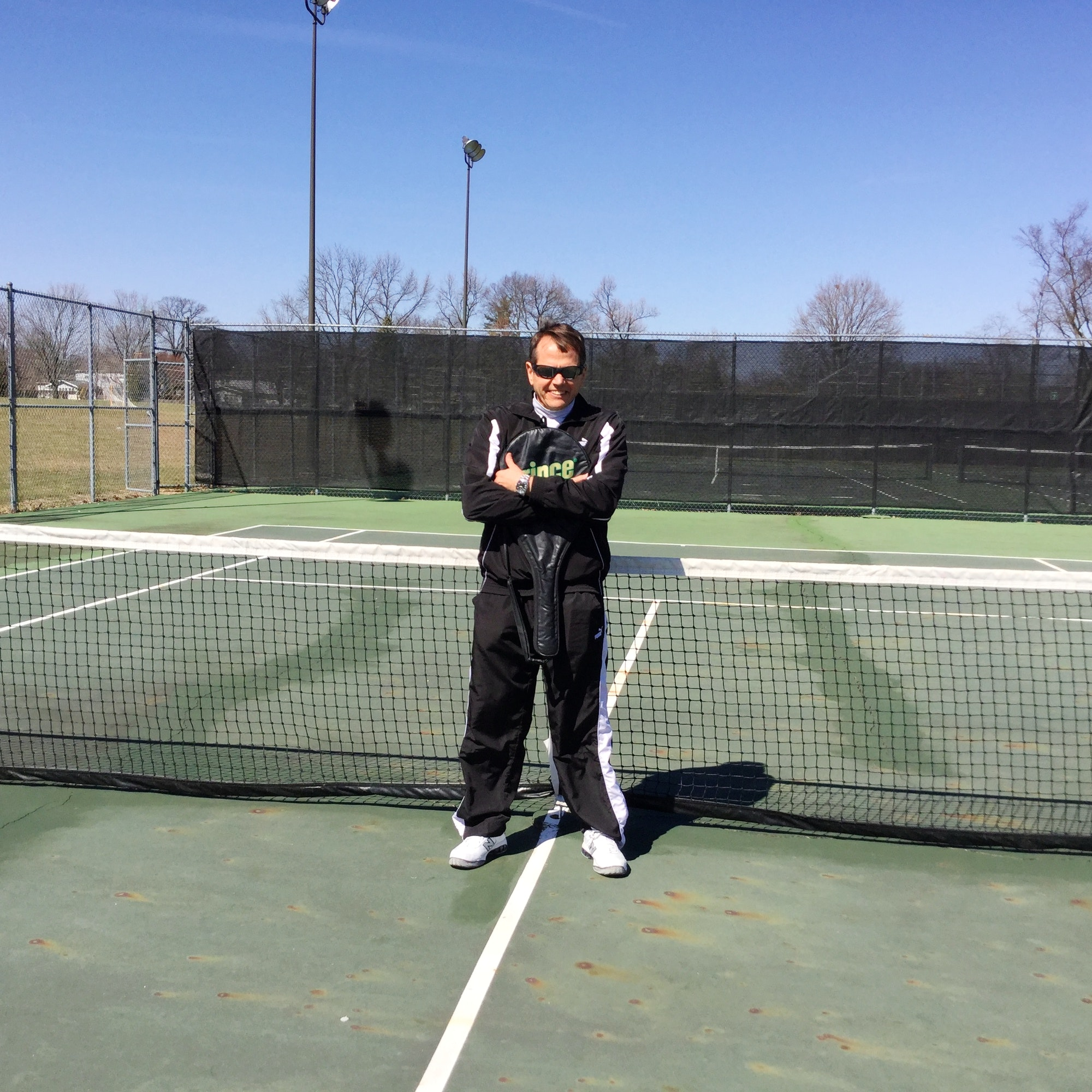 Jon G. teaches tennis lessons in Columbus, OH