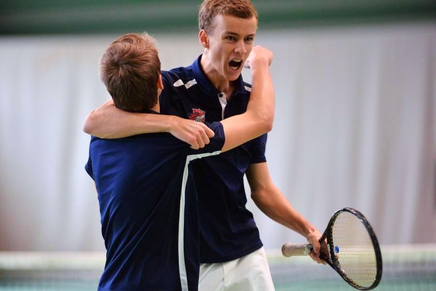 Maxime D. teaches tennis lessons in Boston, MA