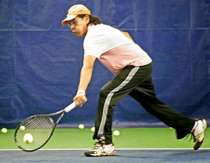 Robert P. teaches tennis lessons in Houston, TX