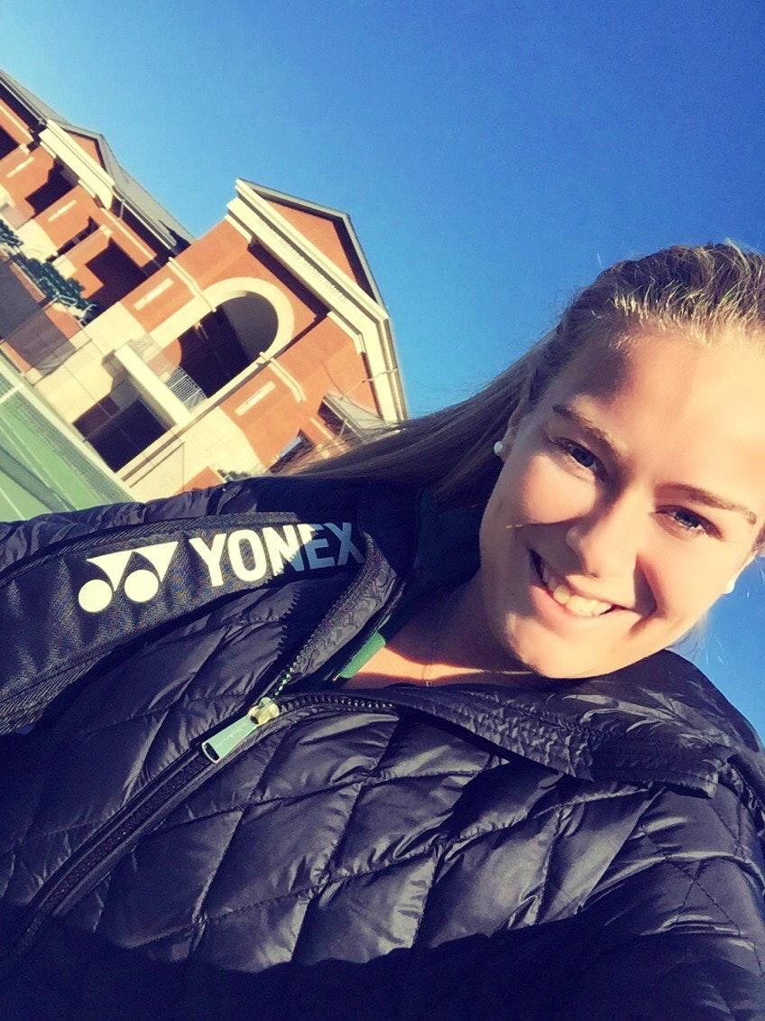 Victoria P. teaches tennis lessons in Charlotte, NC