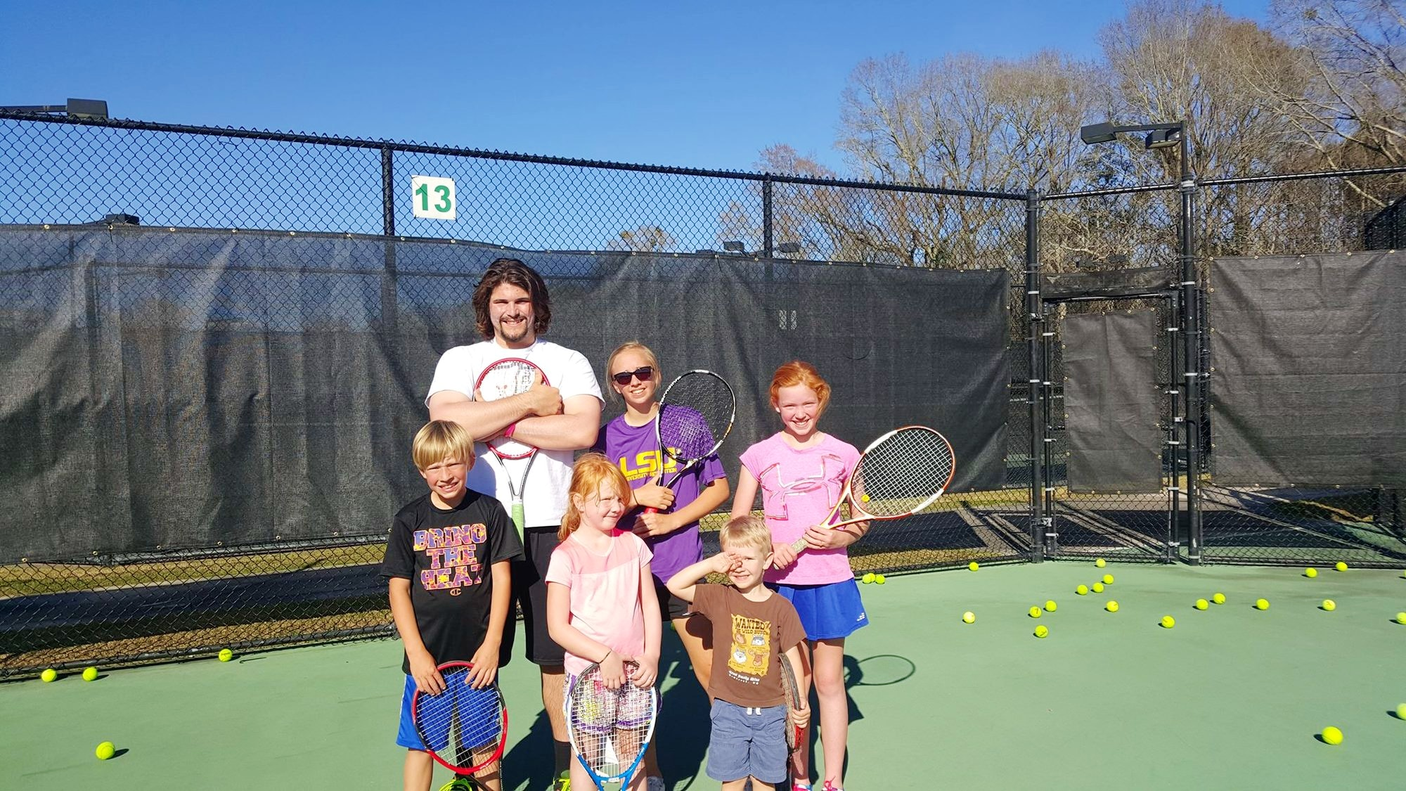 Henry A. teaches tennis lessons in Baton Rouge, LA