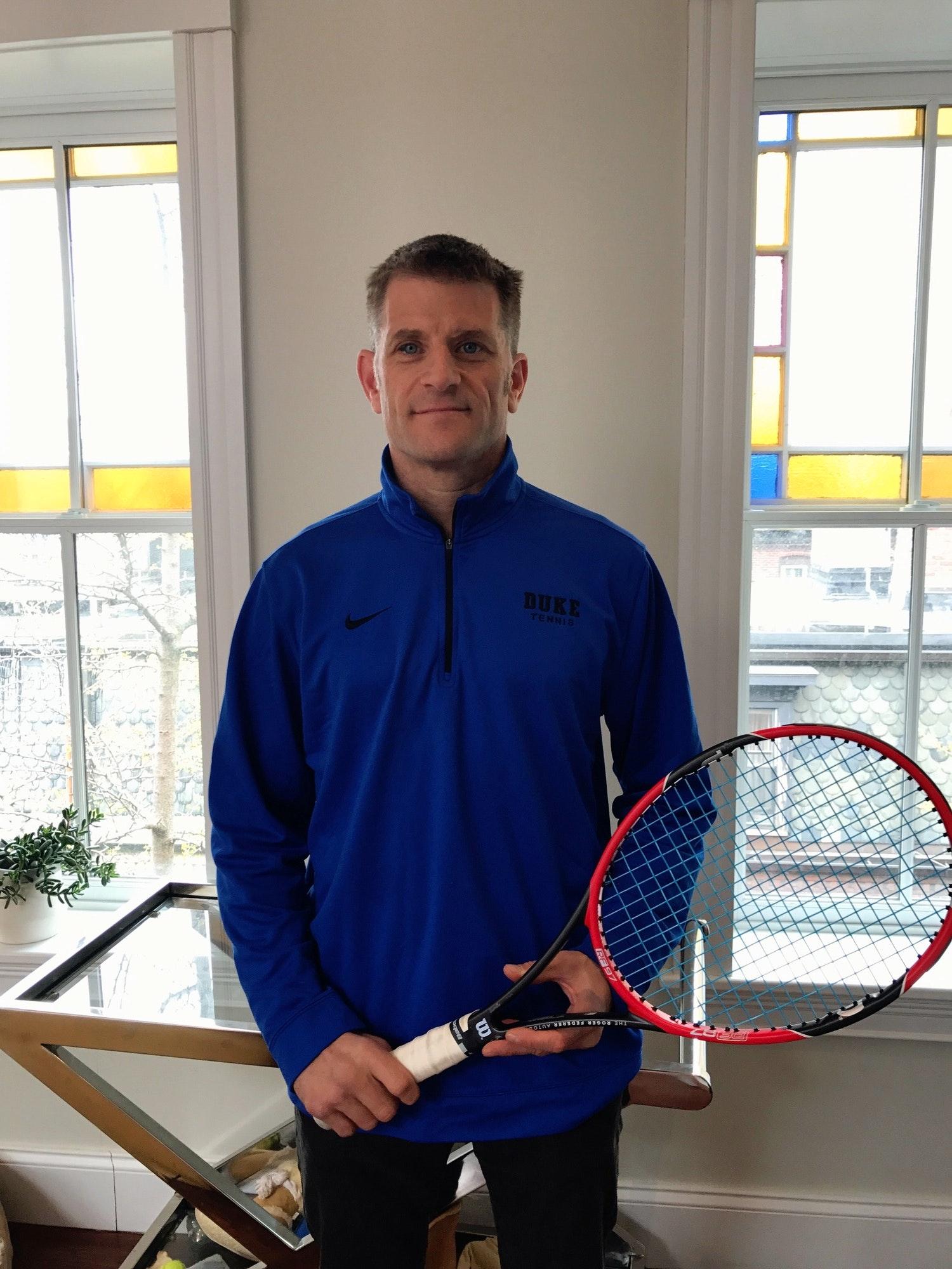 David H. teaches tennis lessons in Boston, MA