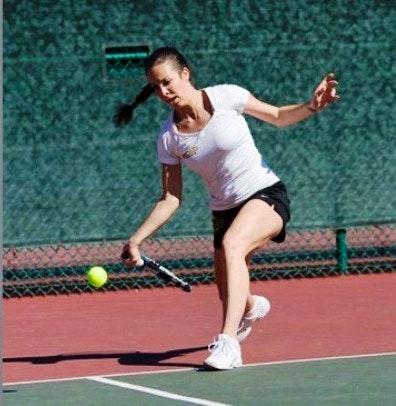 Maja P. teaches tennis lessons in Monterey Park, CA