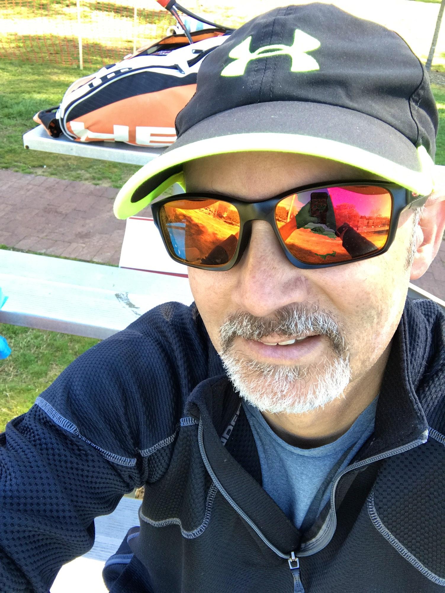 Brent B. teaches tennis lessons in South Riding, VA