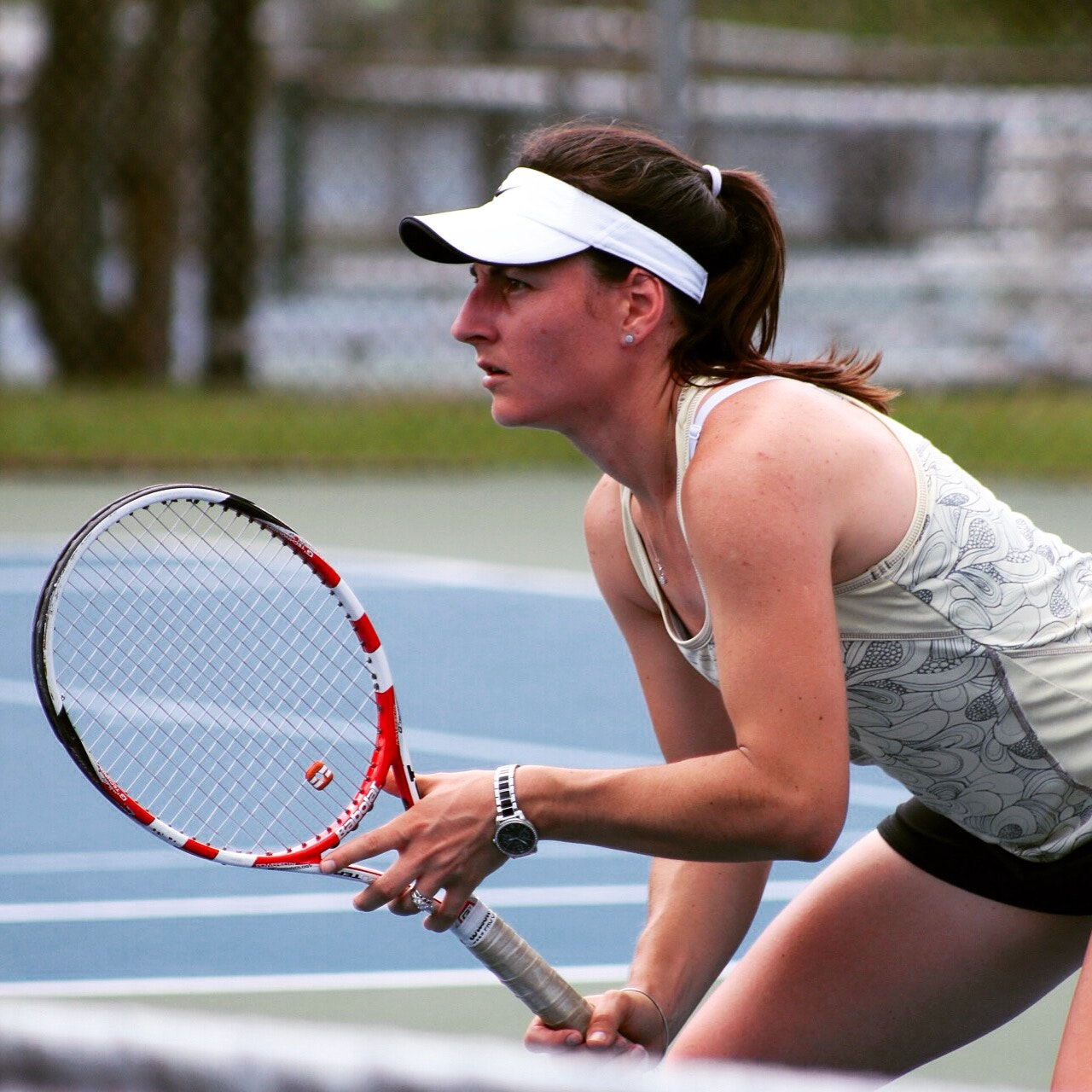 Delia S. teaches tennis lessons in Conshohocken , PA