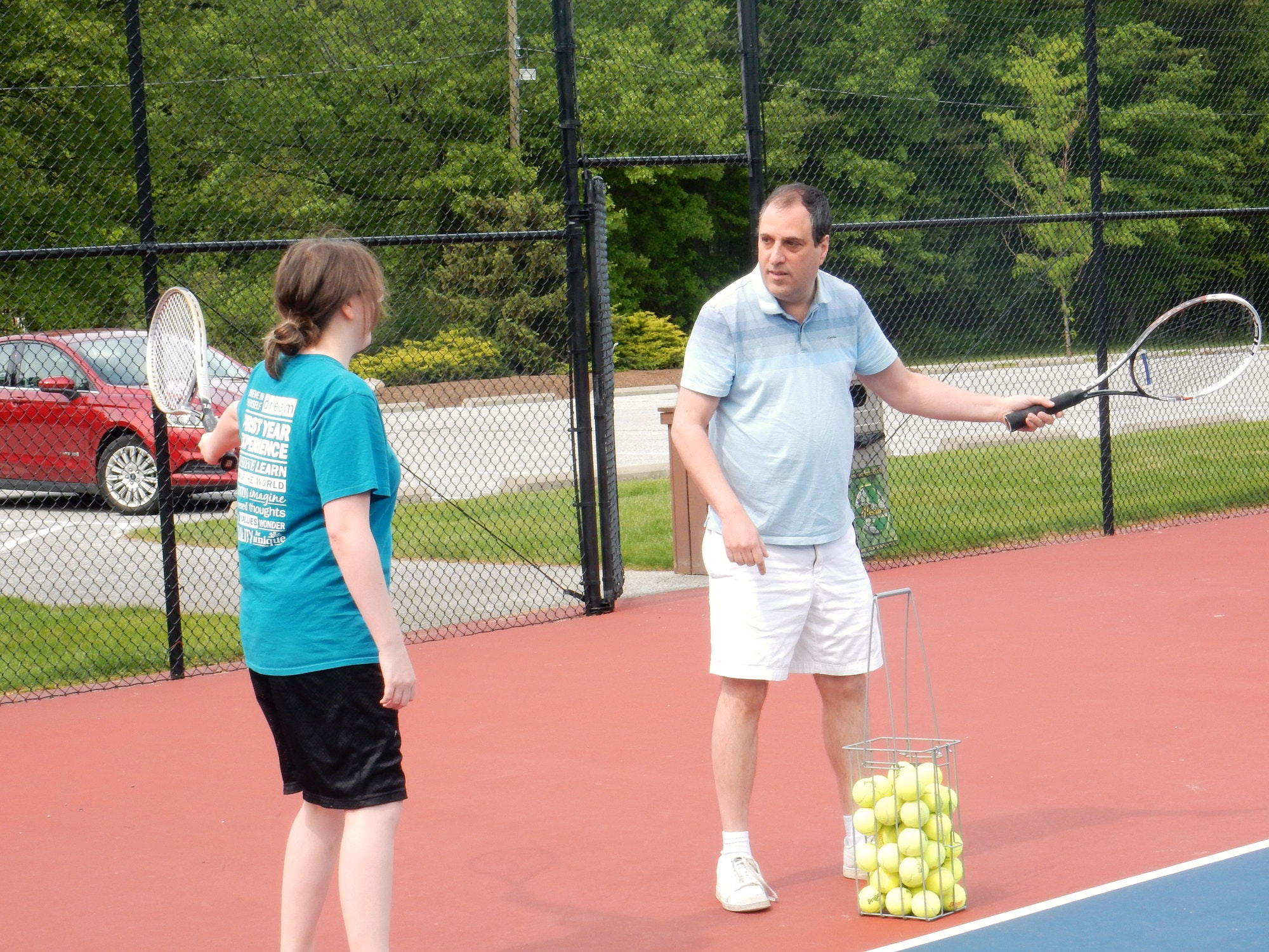 Marty G. teaches tennis lessons in North Olmsted, OH
