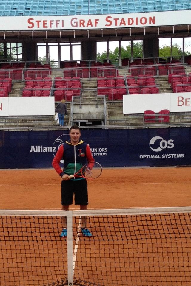 Artem S. teaches tennis lessons in Aventura, FL