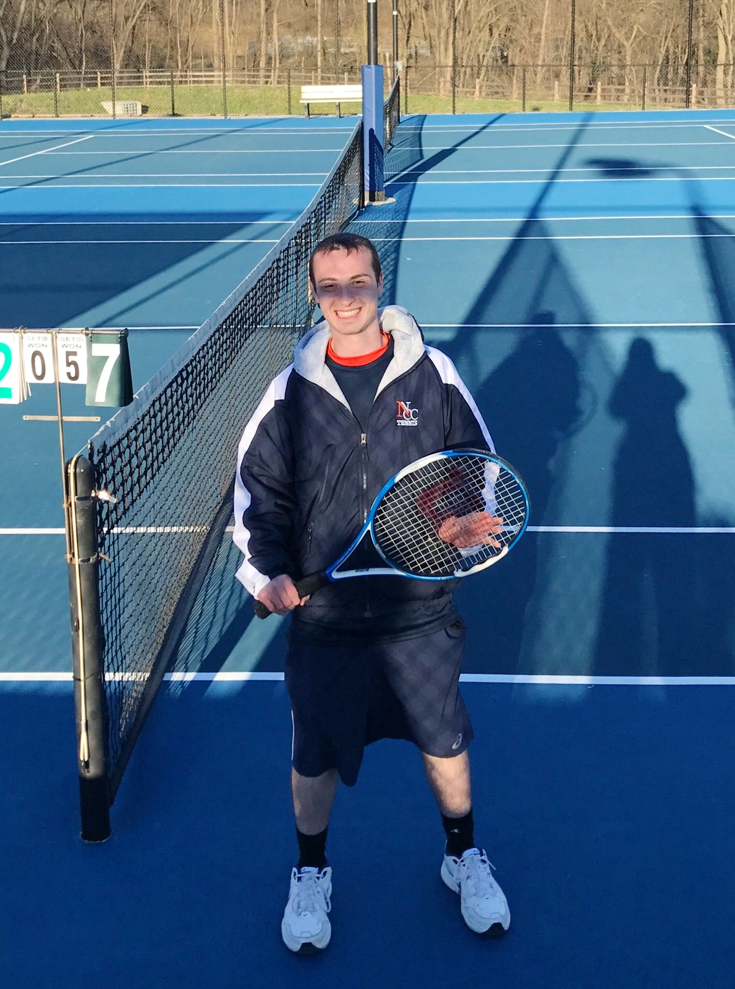 Matt L. teaches tennis lessons in Merrick , NY