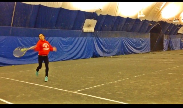 Stephanie N. teaches tennis lessons in Great Neck, NY