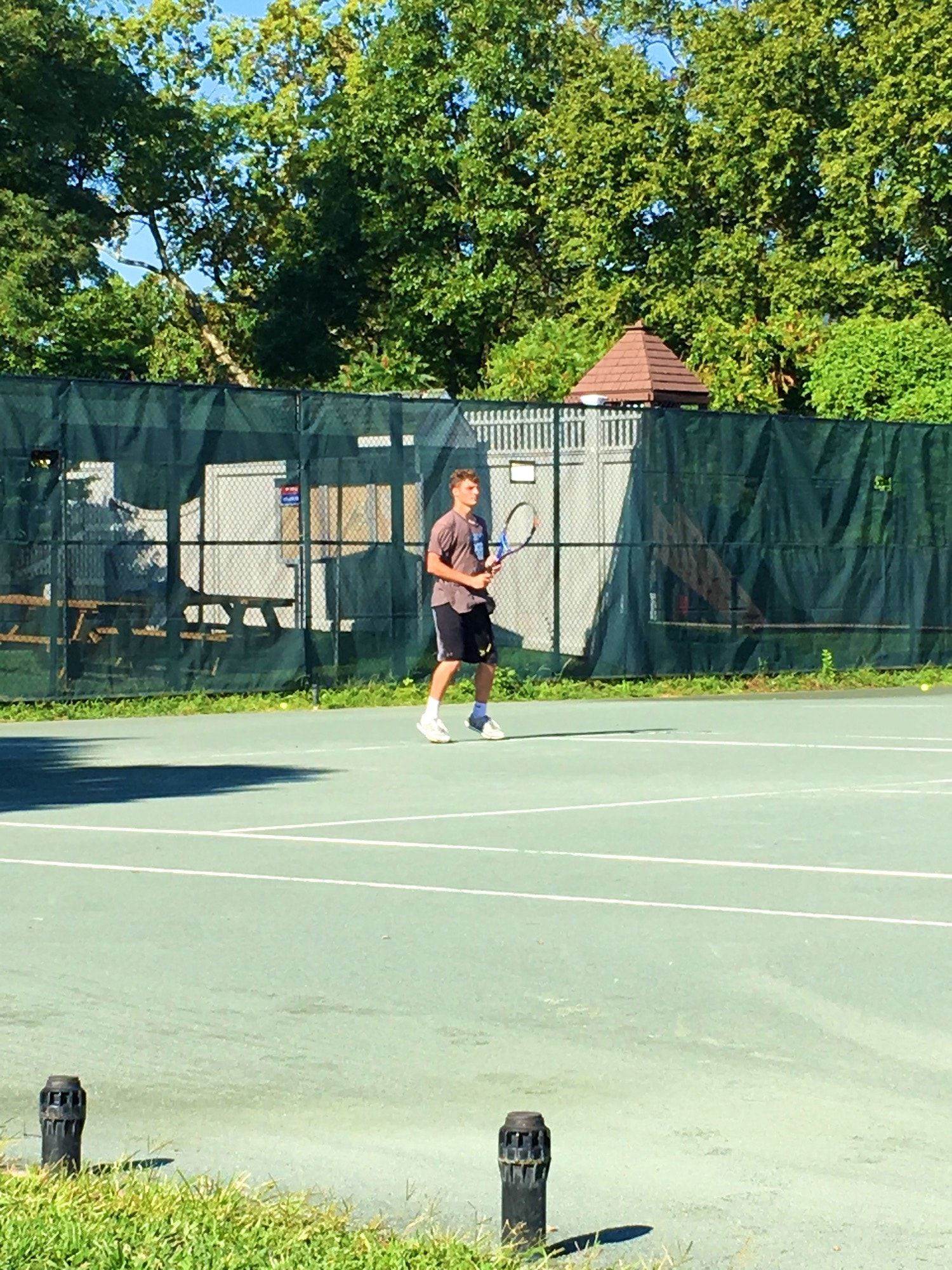 Philip D. teaches tennis lessons in Quincy, MA