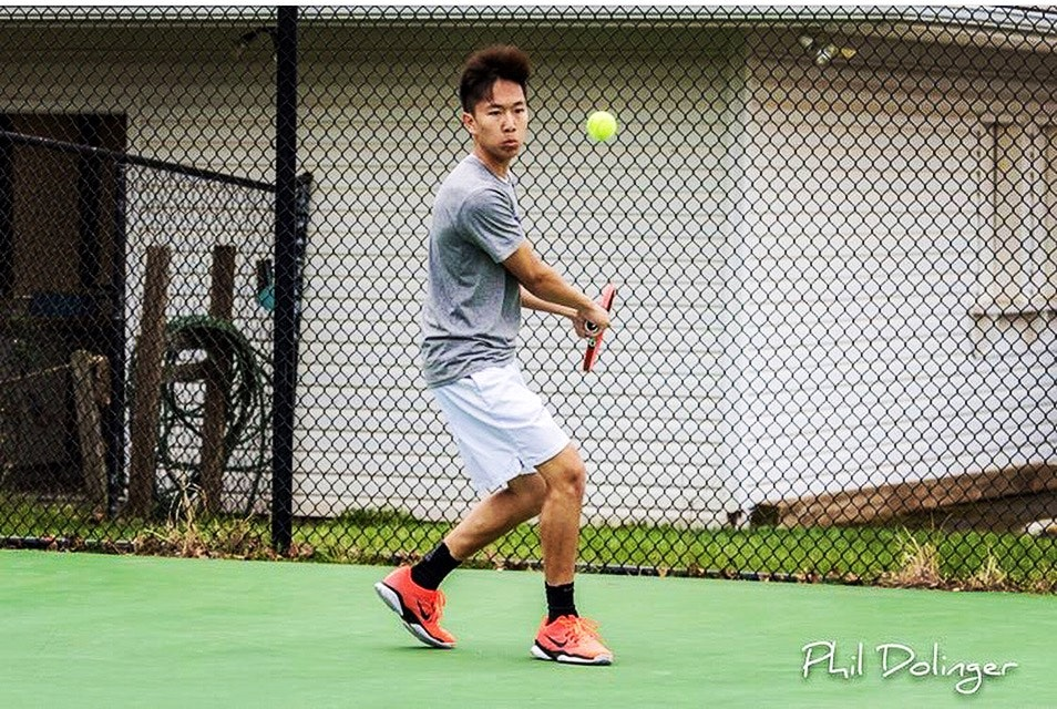 Justin O. teaches tennis lessons in Fairfax, VA