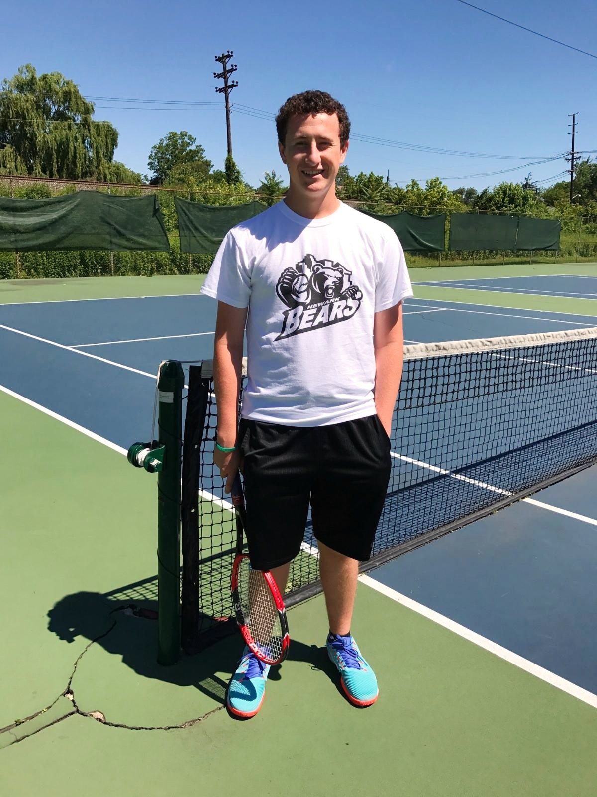 Miller S. teaches tennis lessons in Cranford , NJ