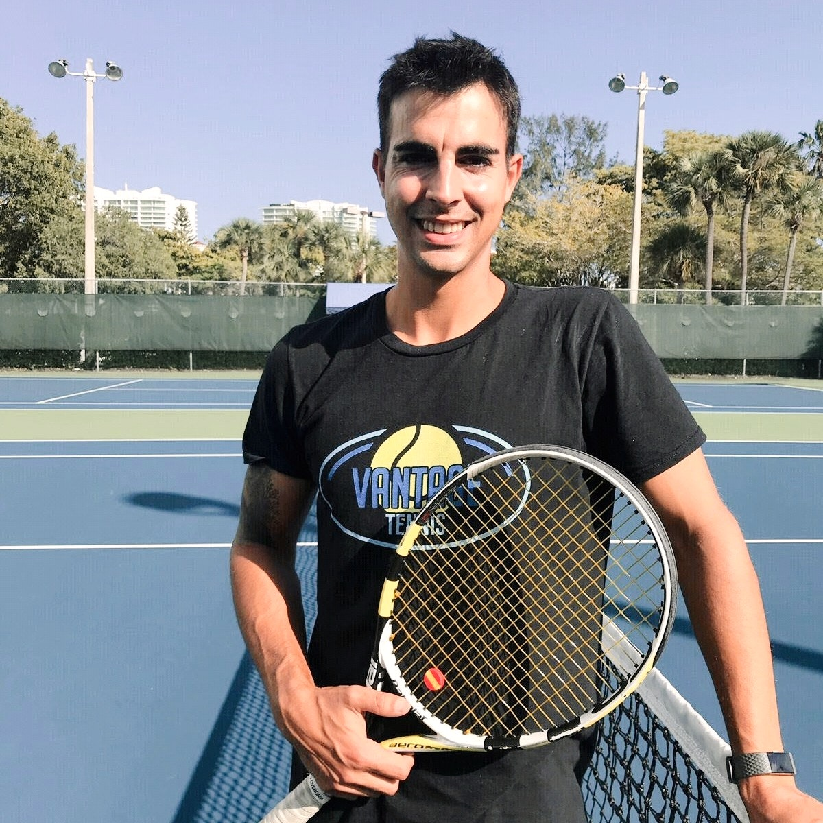 Ramon G. teaches tennis lessons in Aventura, FL