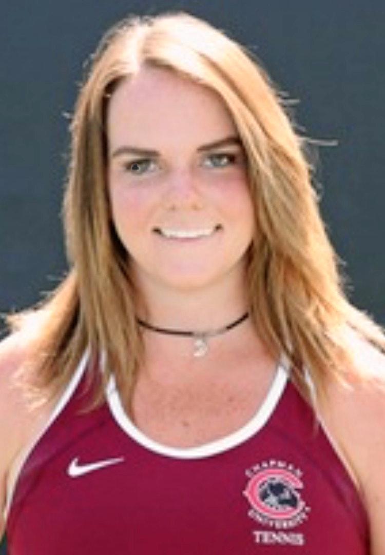 Nicole F. teaches tennis lessons in Orange, CA