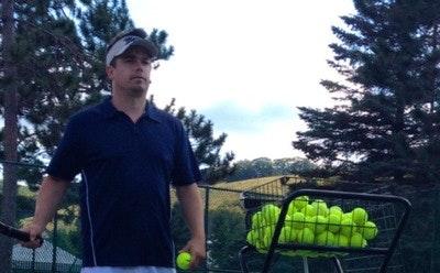 Phil S. teaches tennis lessons in Grand Ledge, MI