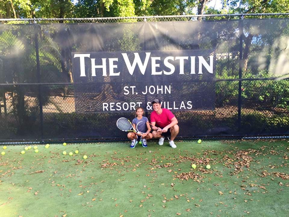 Dan P. teaches tennis lessons in Flemington, NJ