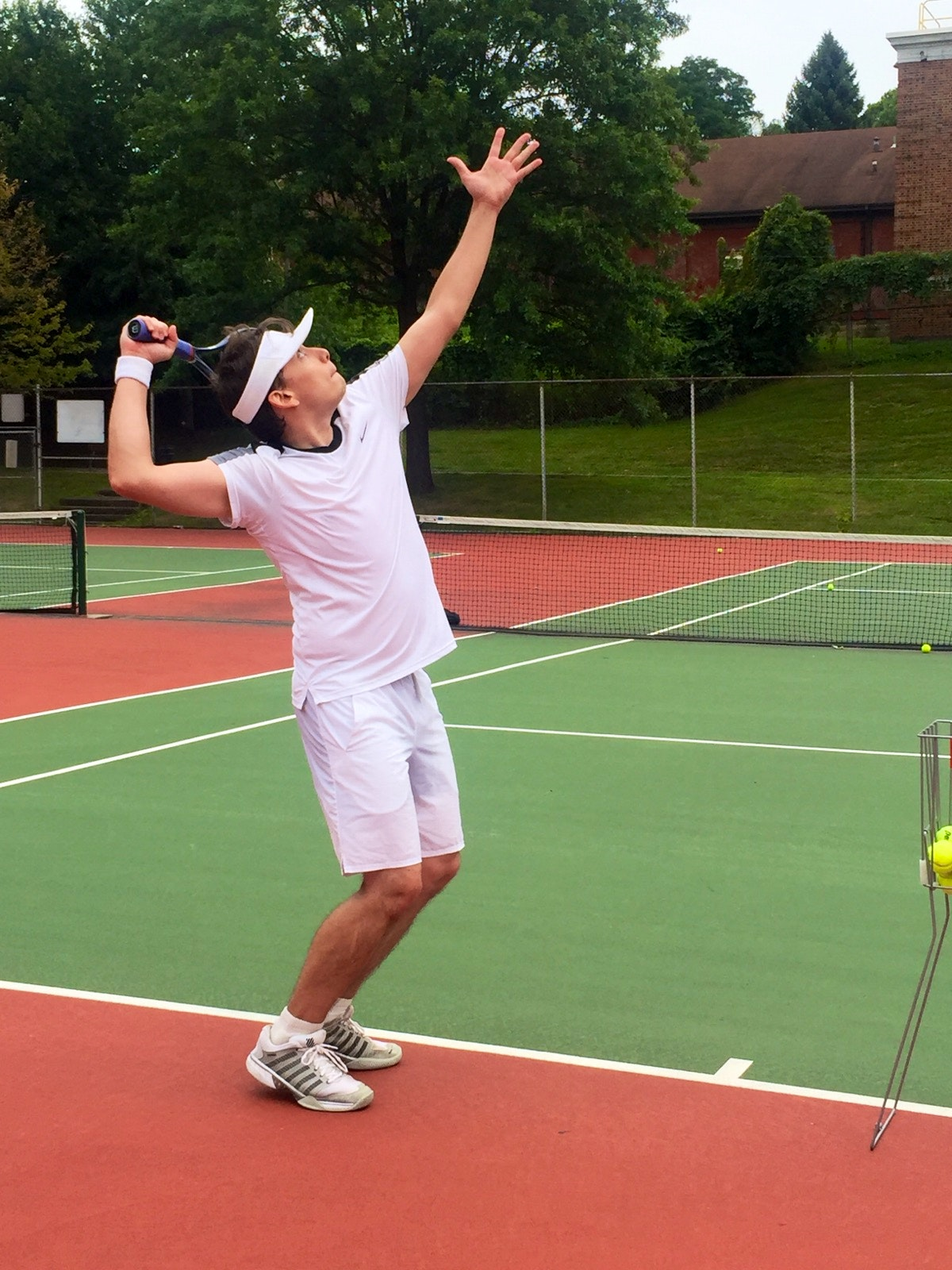 John S. teaches tennis lessons in Pittsburgh, PA