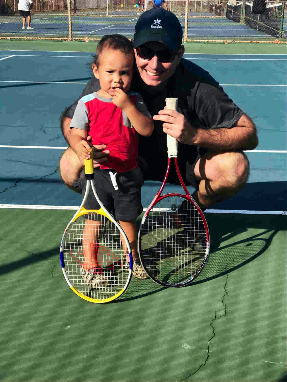 Honza H. teaches tennis lessons in Honolulu, HI