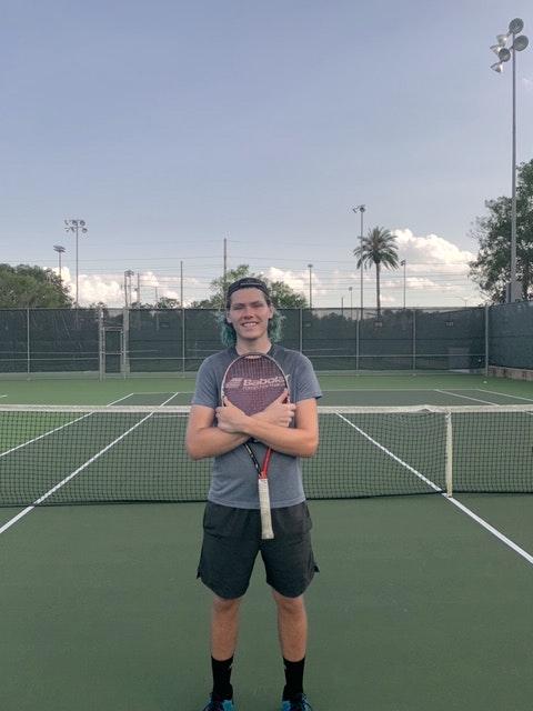 Brandon L. teaches tennis lessons in Gainesville, FL