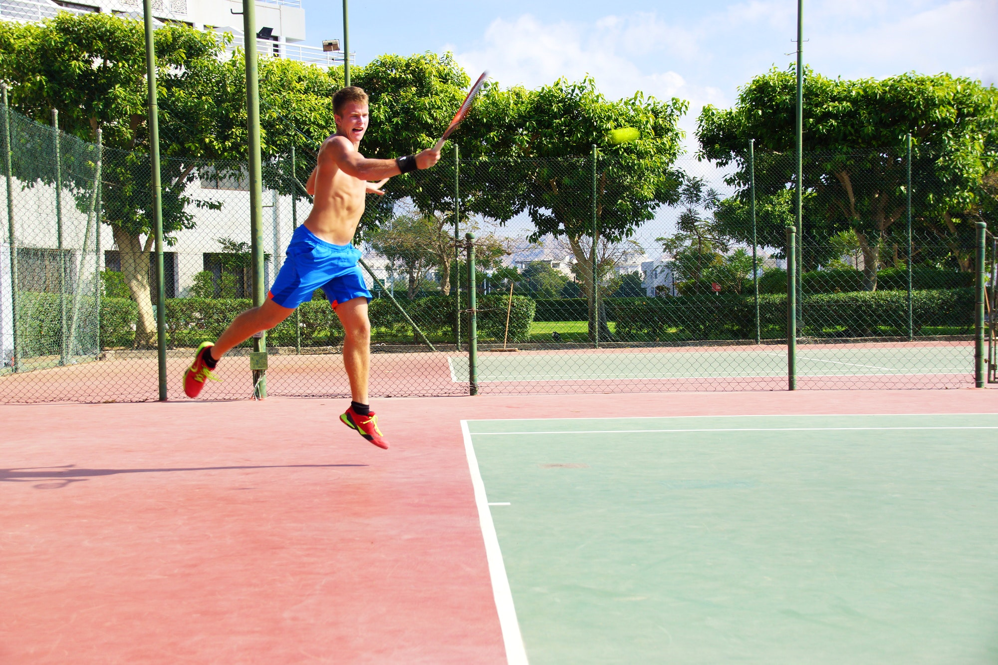 Patrick S. teaches tennis lessons in Davie, FL