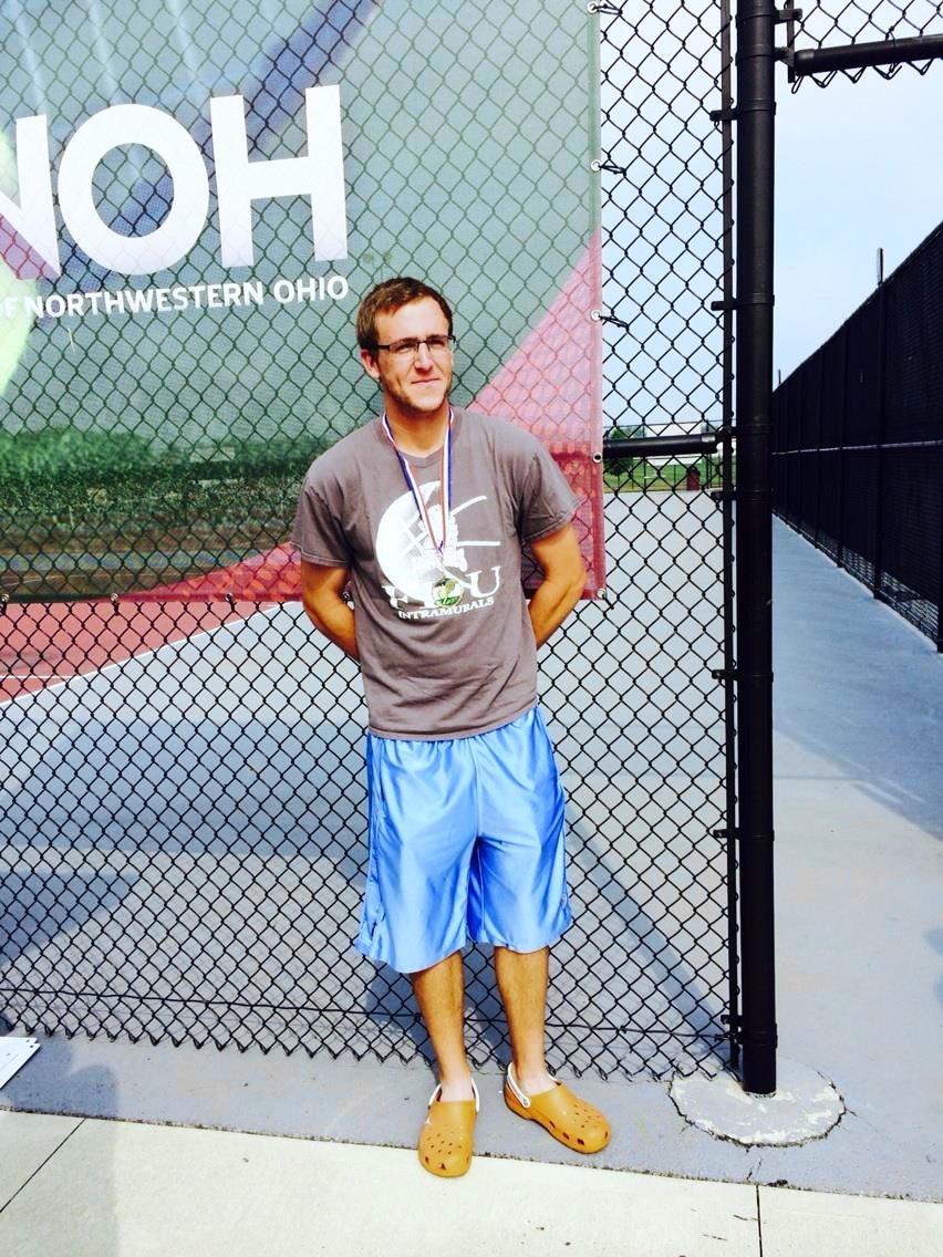 Brandon F. teaches tennis lessons in Dallas, TX