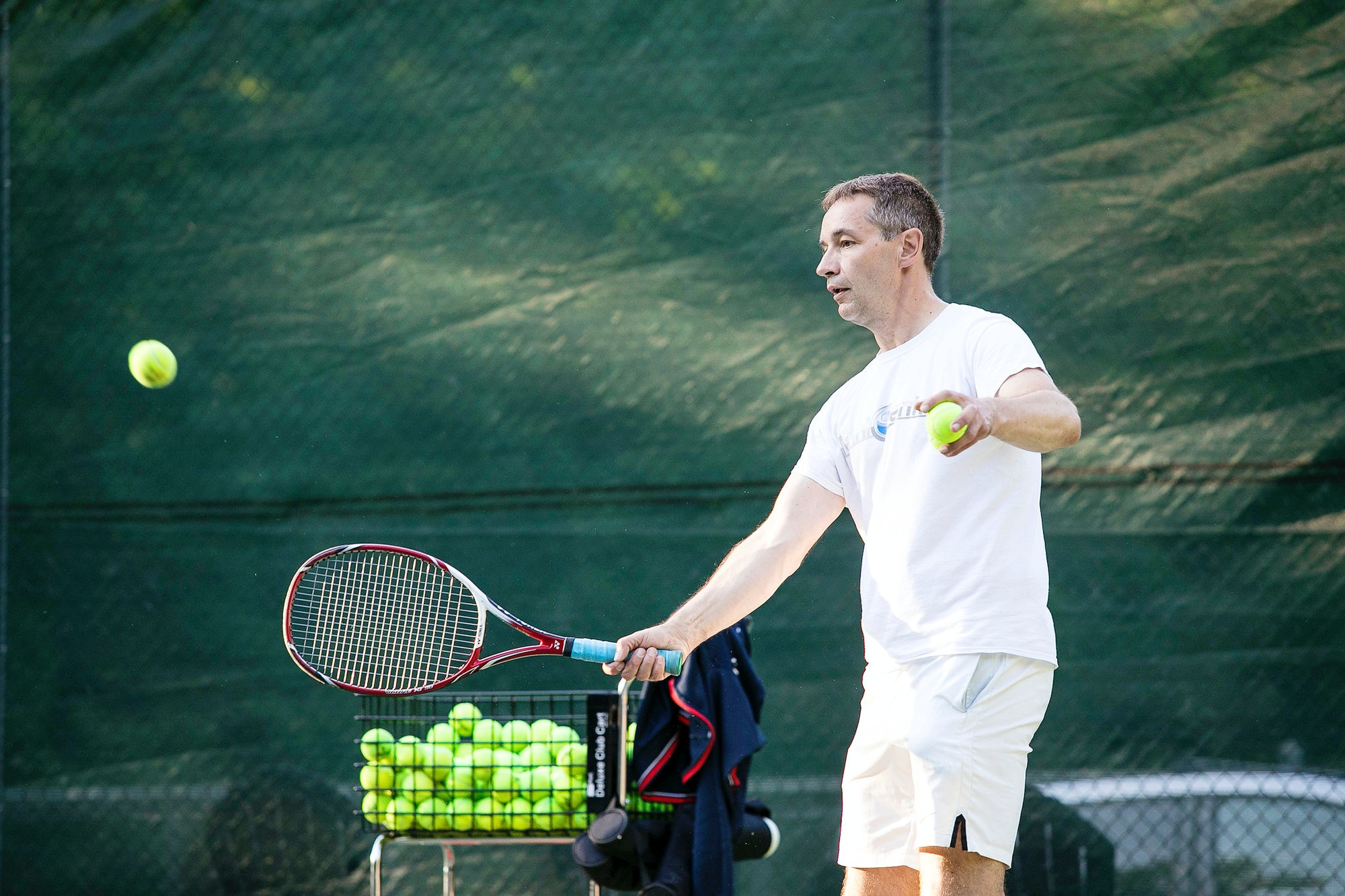 Holger S. teaches tennis lessons in Richmond, VA