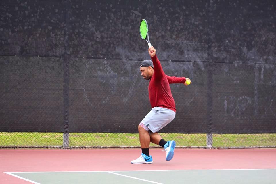 Nic N. teaches tennis lessons in Carson, CA