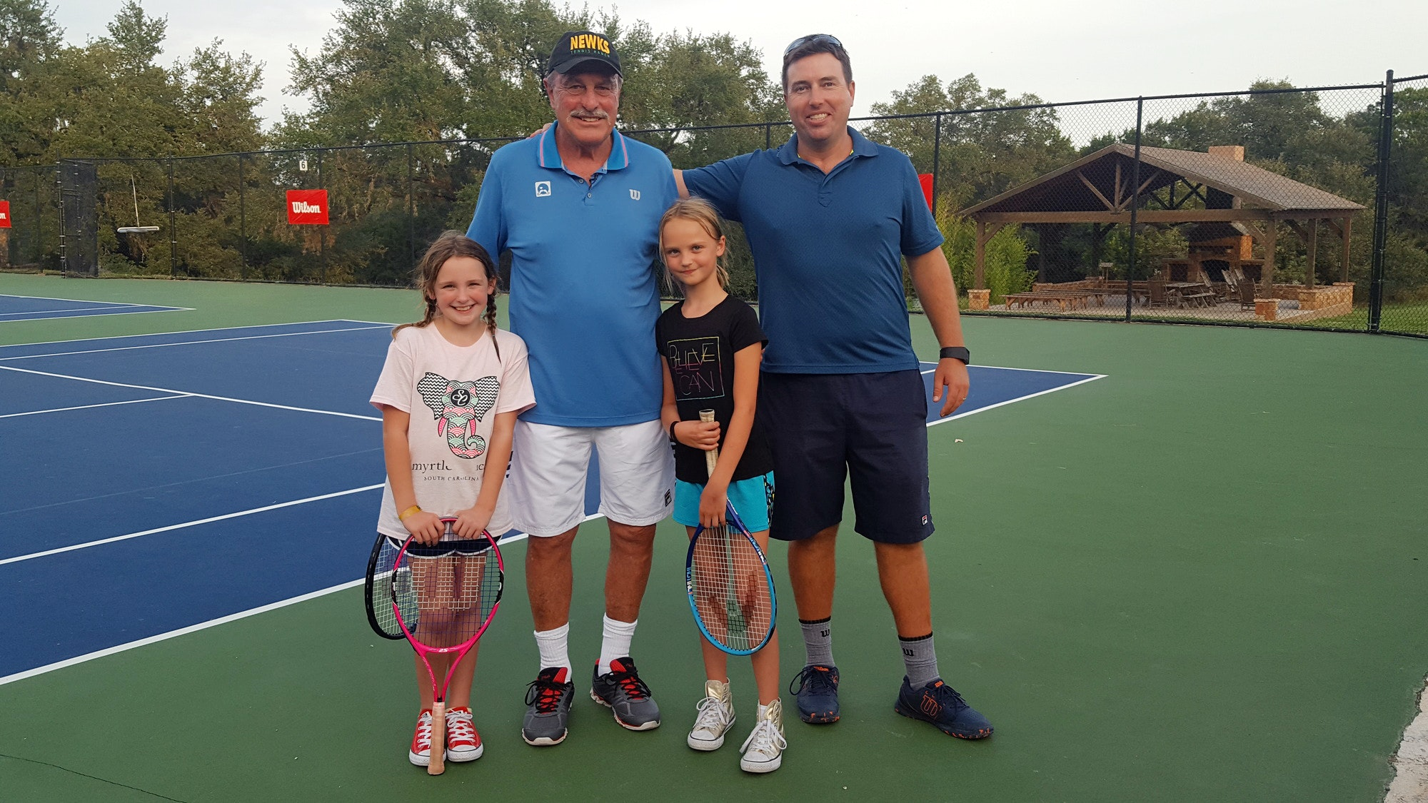 Christopher J. teaches tennis lessons in New Braunfels, TX