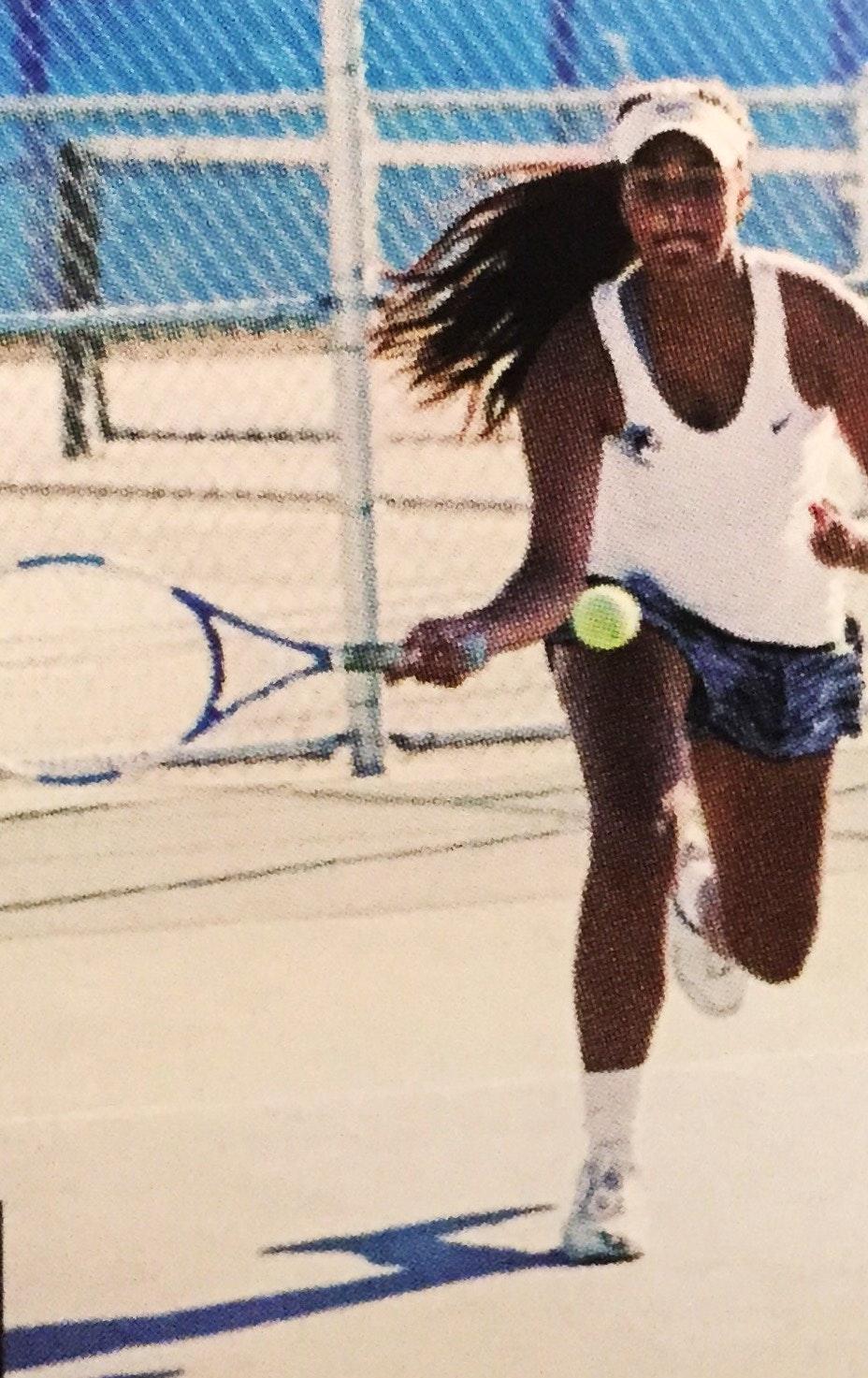 Lilian R. teaches tennis lessons in Fresno, CA