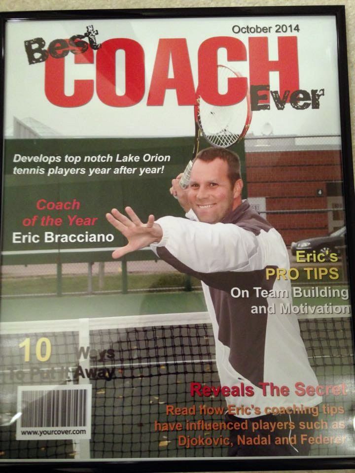 Eric B. teaches tennis lessons in Oxford, MI