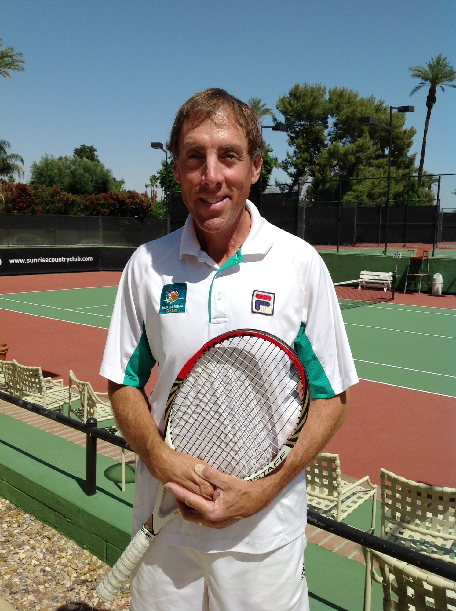 Kent A. teaches tennis lessons in Kalaheo, HI