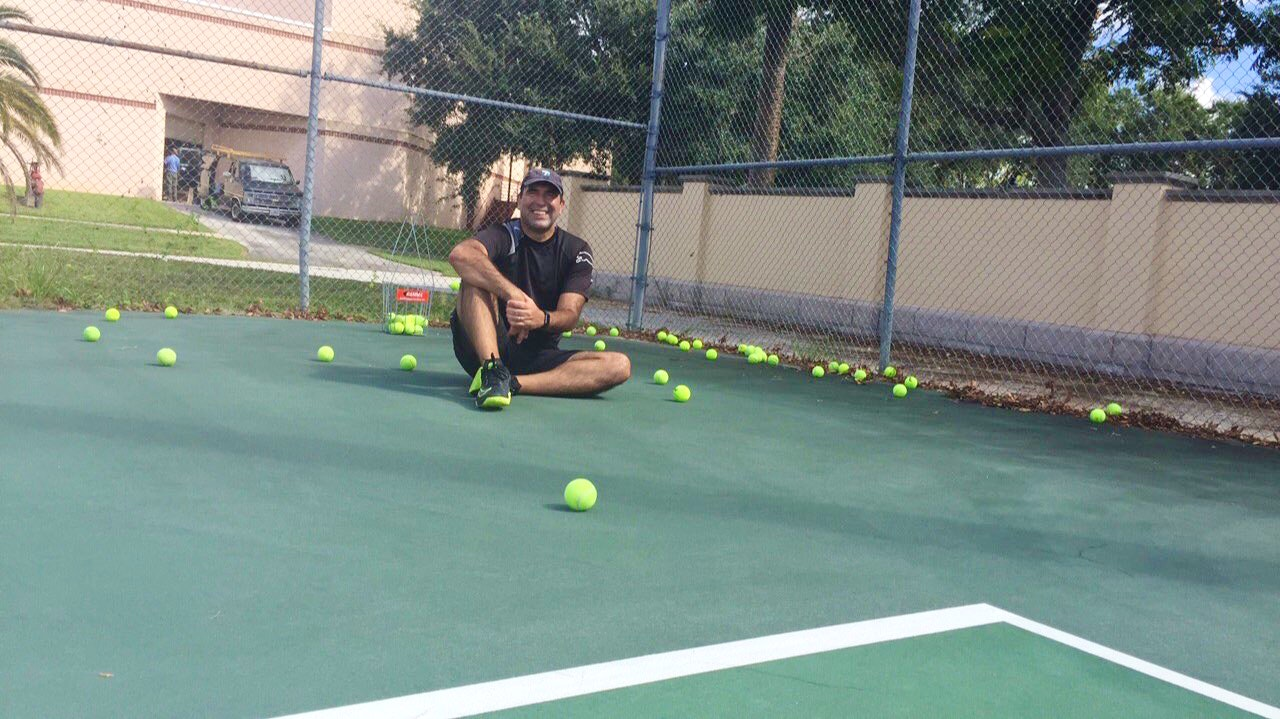 Bart C. teaches tennis lessons in Deland, FL