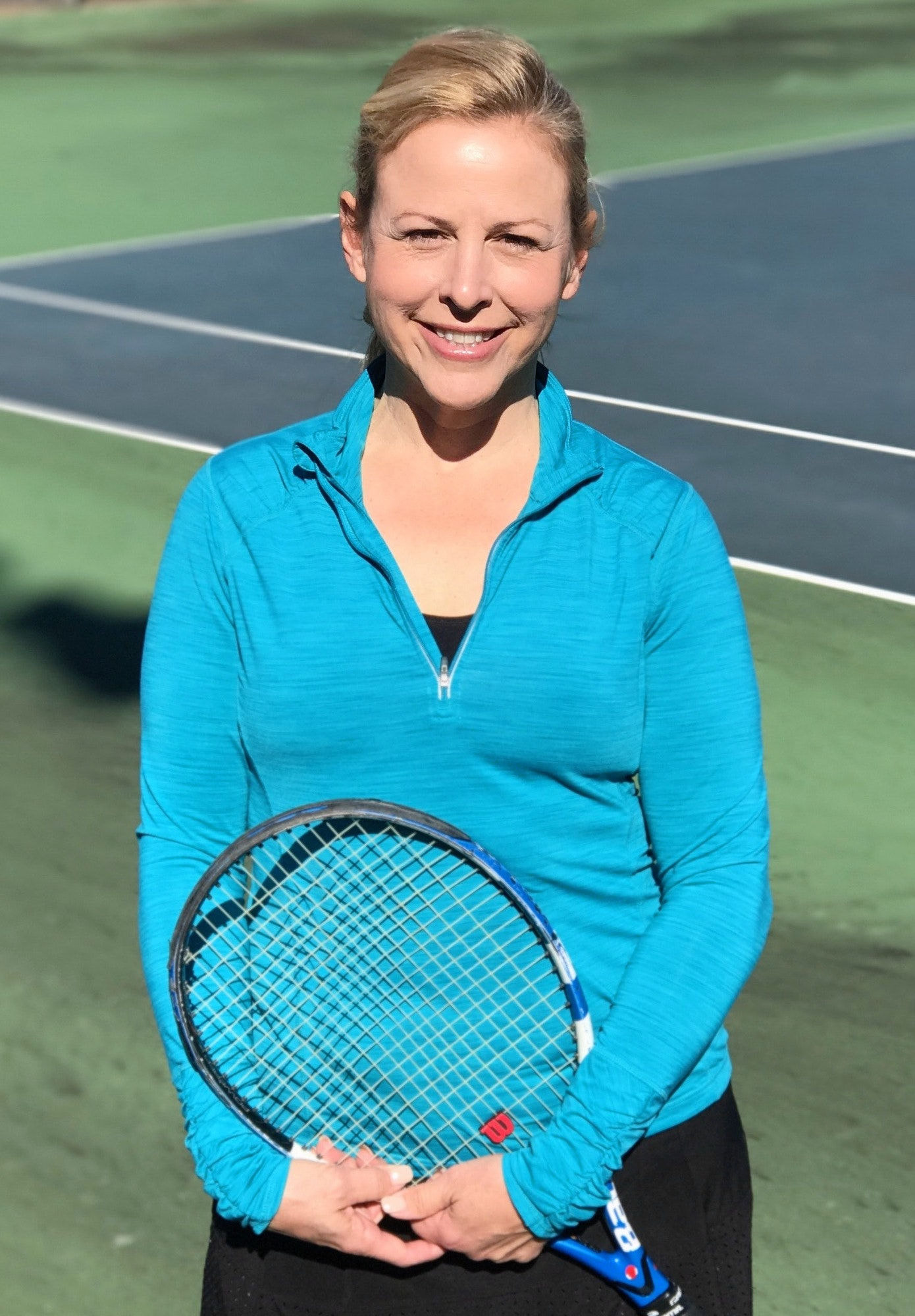 Melanie M. teaches tennis lessons in Nashville, TN