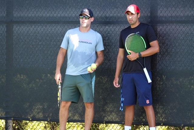 Nick C. teaches tennis lessons in Clovis, CA