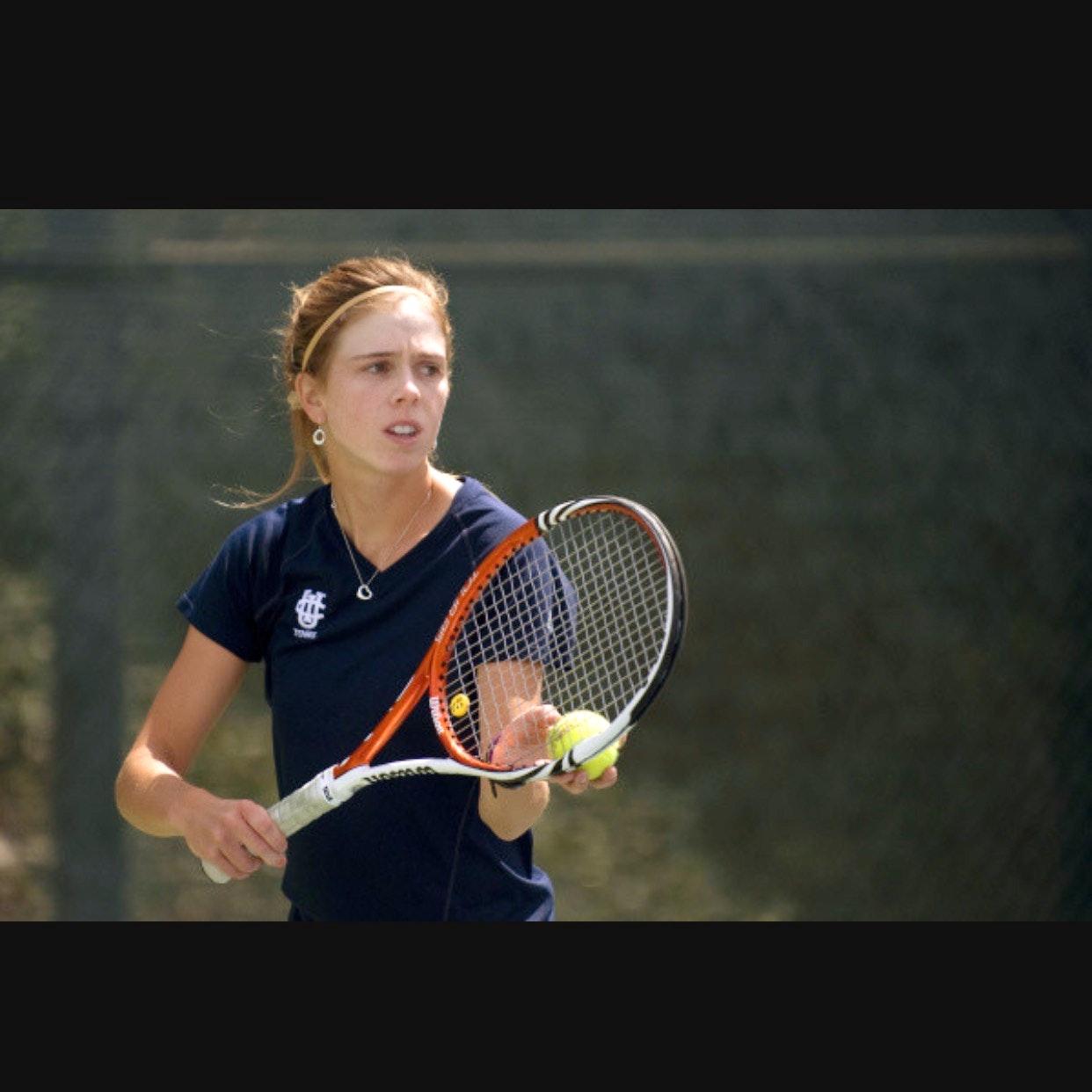 Kristina S. teaches tennis lessons in San Jose, CA