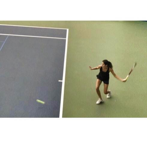 Aşan A. teaches tennis lessons in Houston, TX