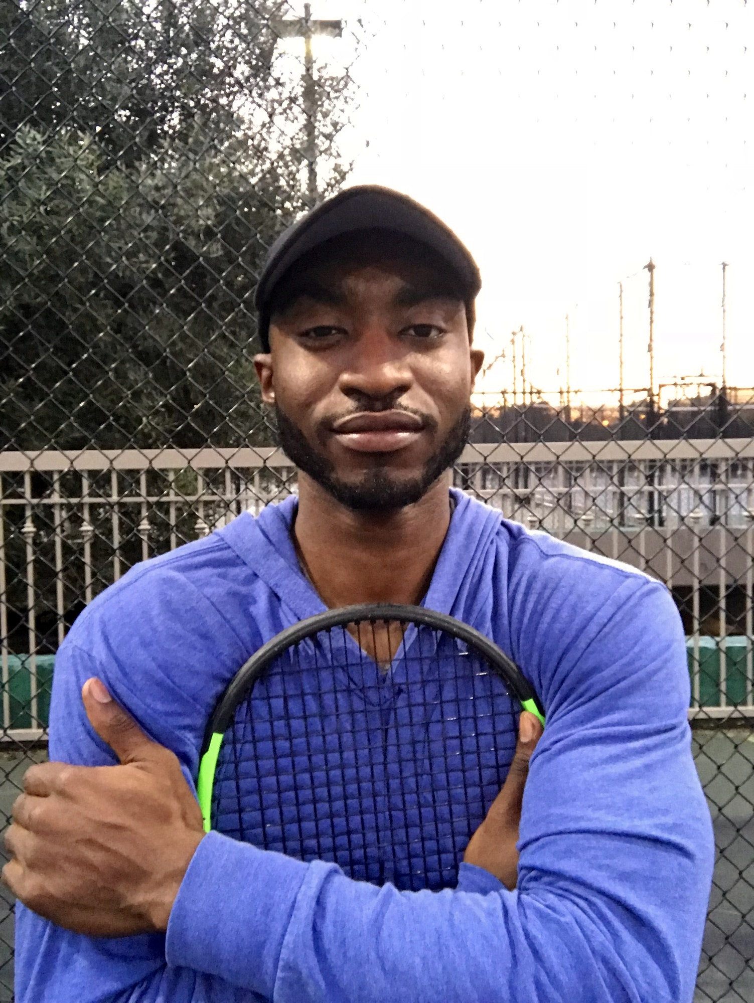 Josh D. teaches tennis lessons in San Jose, CA