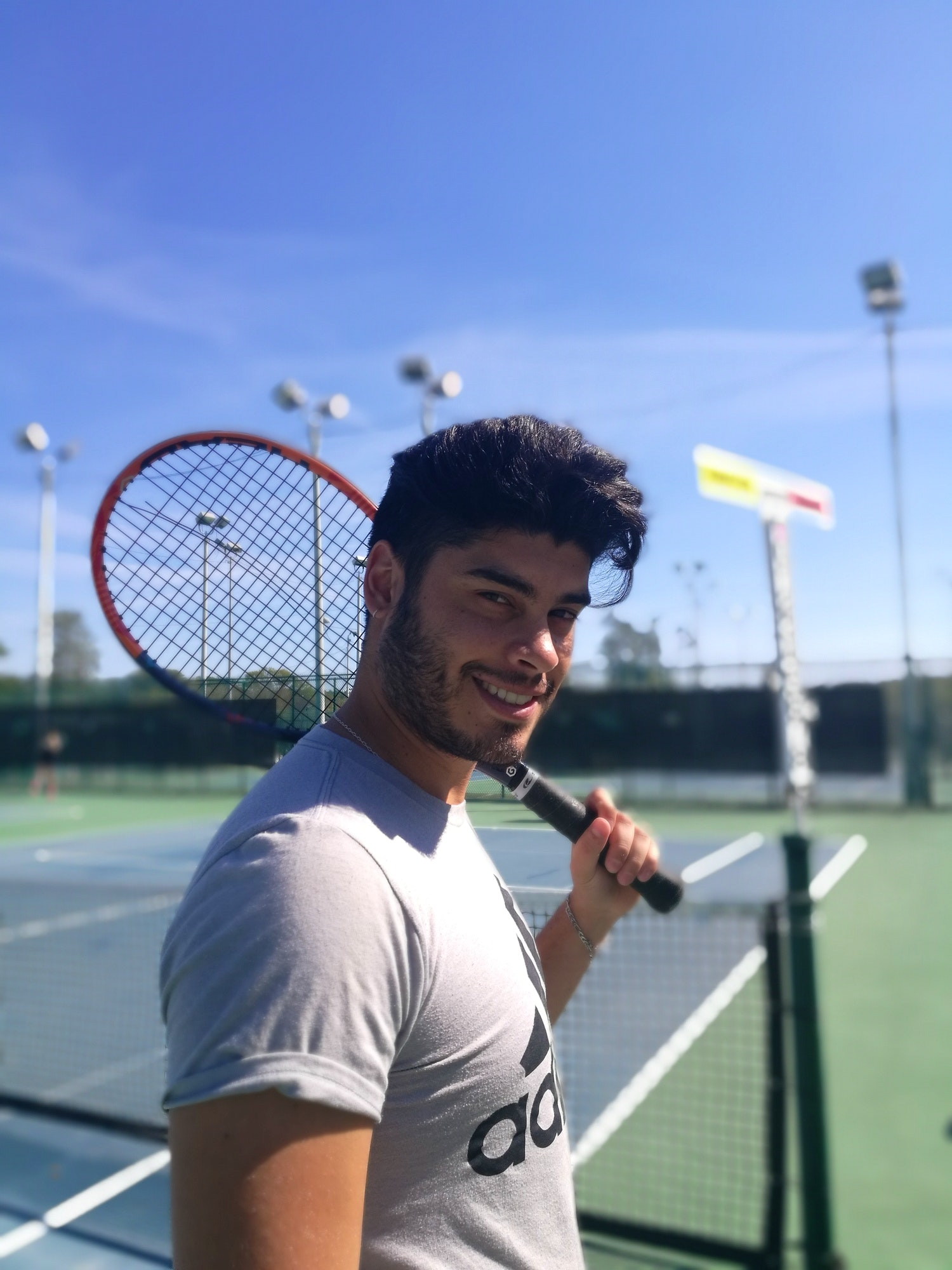 Daniel S. teaches tennis lessons in Miami, FL