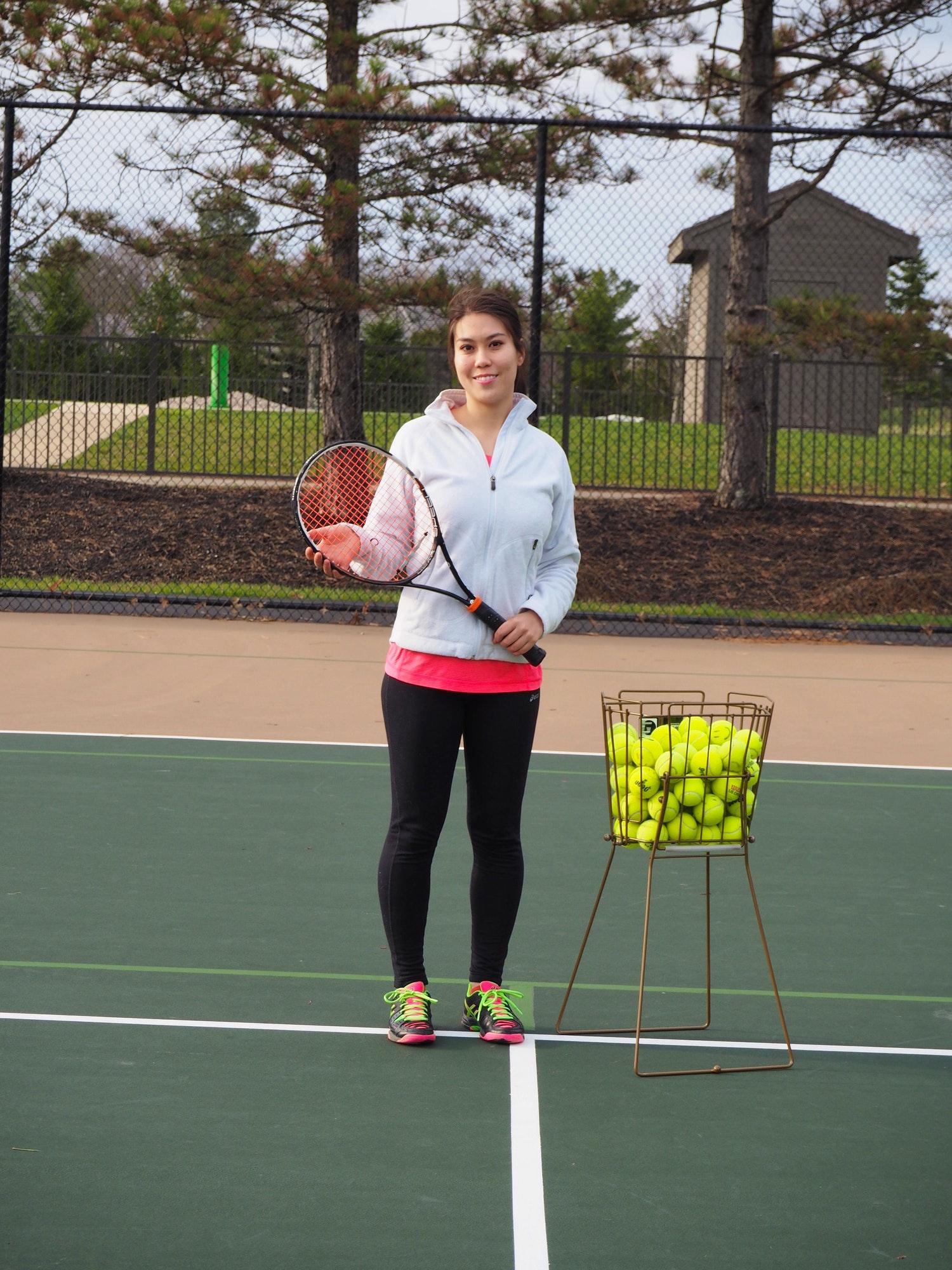 Aileen S. teaches tennis lessons in Dublin, OH