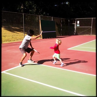 Tino F. teaches tennis lessons in Portland, OR