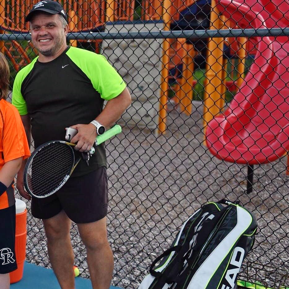 Michael P. teaches tennis lessons in Madbury, NH
